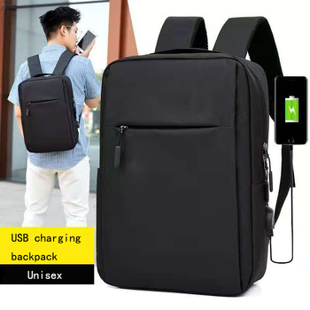 Smart Anti-theft Water proof Men's Business Laptop backpack with usb charging port men