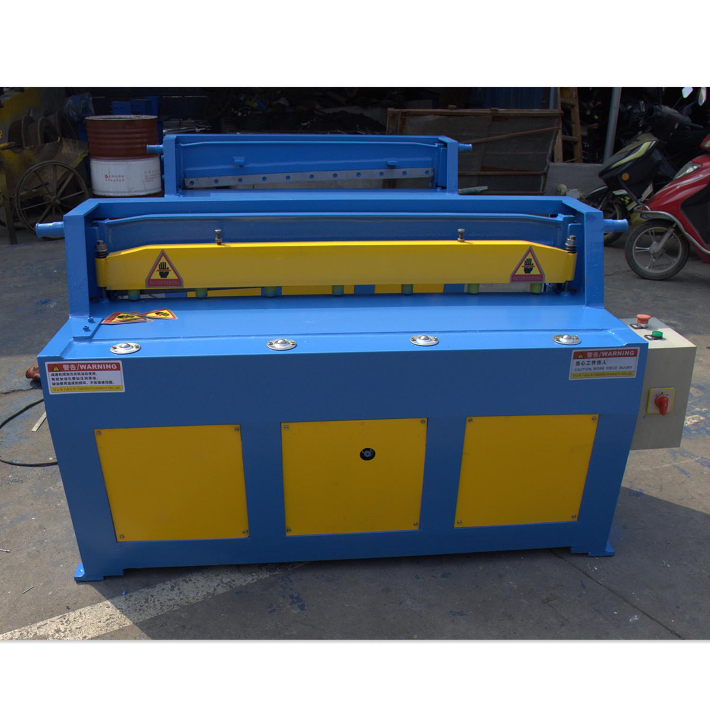 Q11-1.5*2500 China small Manual metal cutting shears/Electric pendulum shearing machine