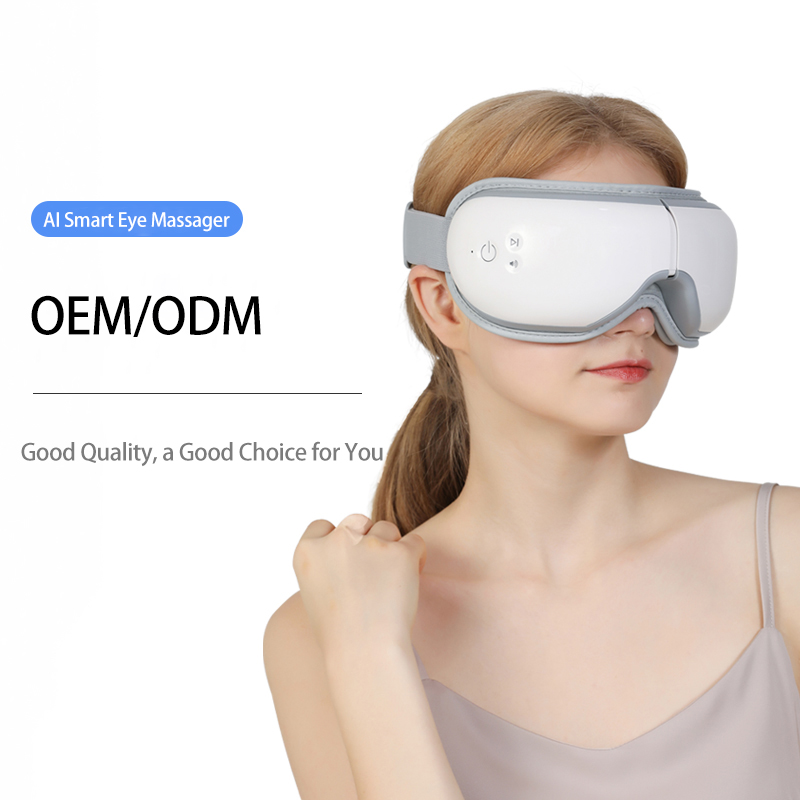 Beauty Air Pressure Wholesale Eye Massager for Dry Eye Wireless Mini New Music Smart Electric Eye Massager with Heat Compression