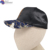 China Factory man metal logo velvet black Casual Duck Tongue hat cap for sublimation