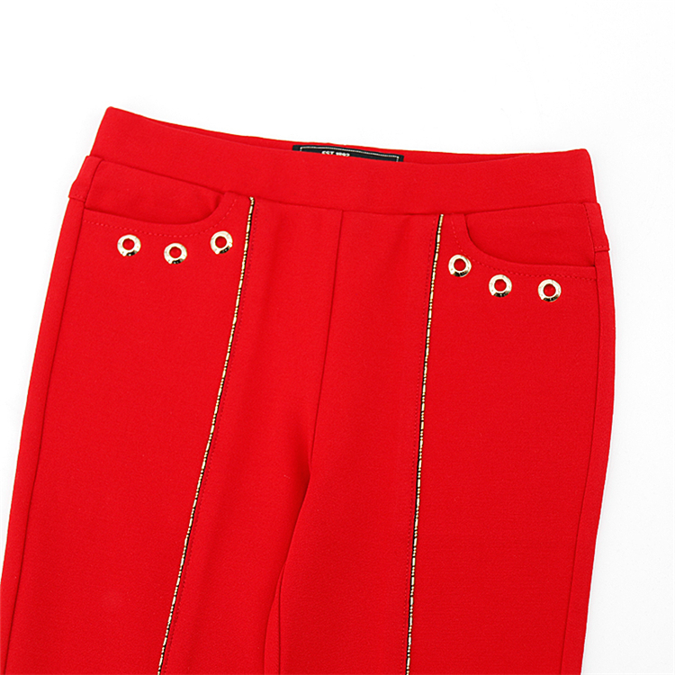 Горячие дети девочки pantalon de ninos 10 anos Детские трикотажные брюки