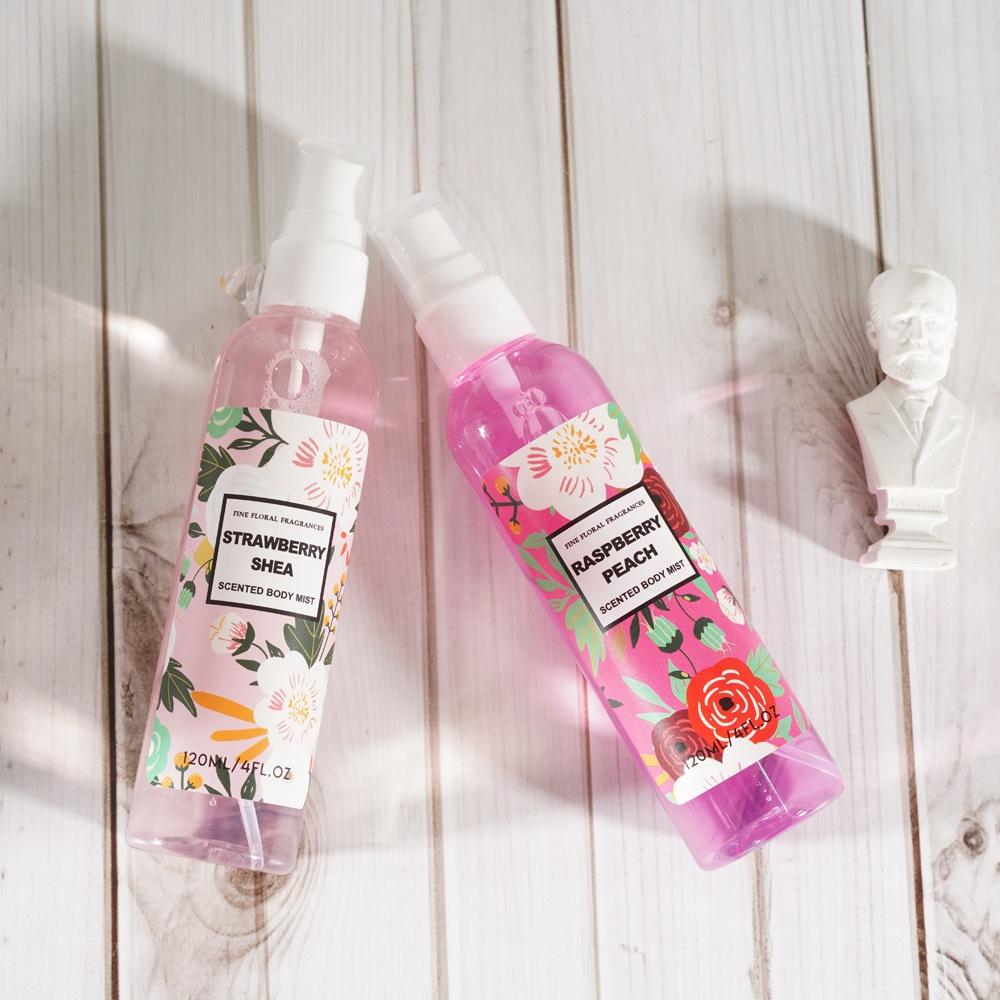 Private Label Fragrance Small Mini Women Fruit Body Mists