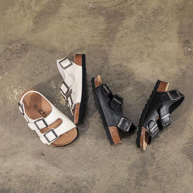 2021 новые модные тапочки для девочек, летние милые сандалии для маленьких девочек, пляжные сандалии, детские сандалии