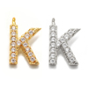 K(gold or rhodium plated)