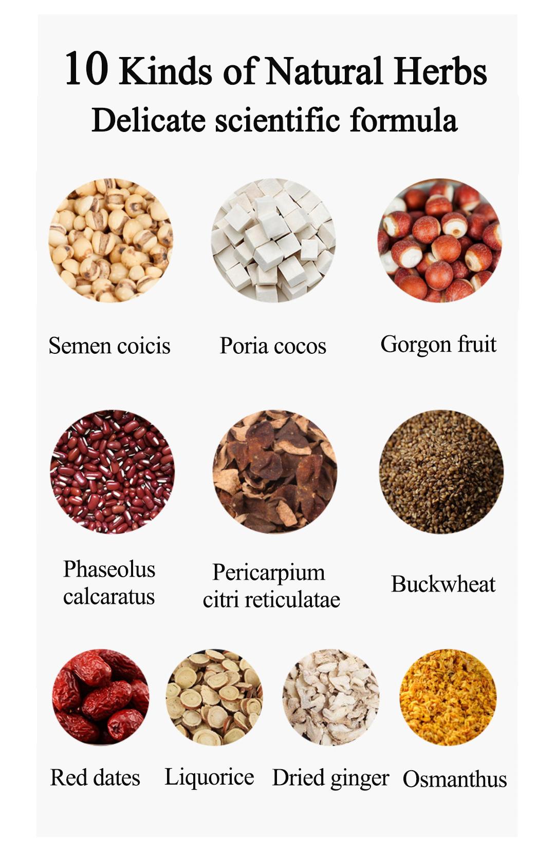 Wholesale Chinese Herbal Detox Tea in Individual Bag Healthy Organic Qushi Jianpi Clearing Dampness Tea For Women - 4uTea | 4uTea.com