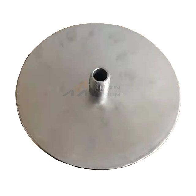 100mm OD Micro Fine Bubble Titanium Diffuser Aeration Stone Micro Bubble Nano Oxygen Generator