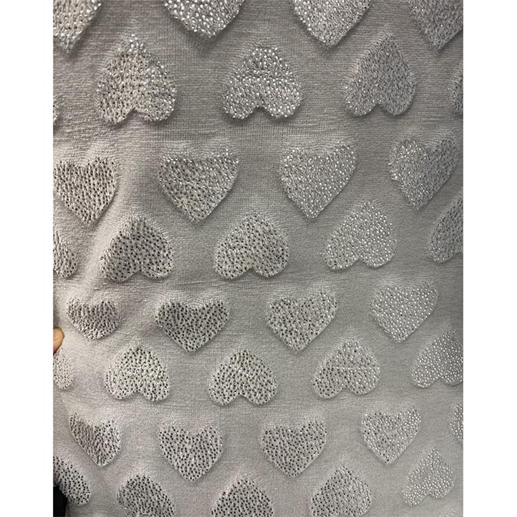 Custom made good quality cut work foil printed flannel fleece fabric for bathrobe and baby Blanket
