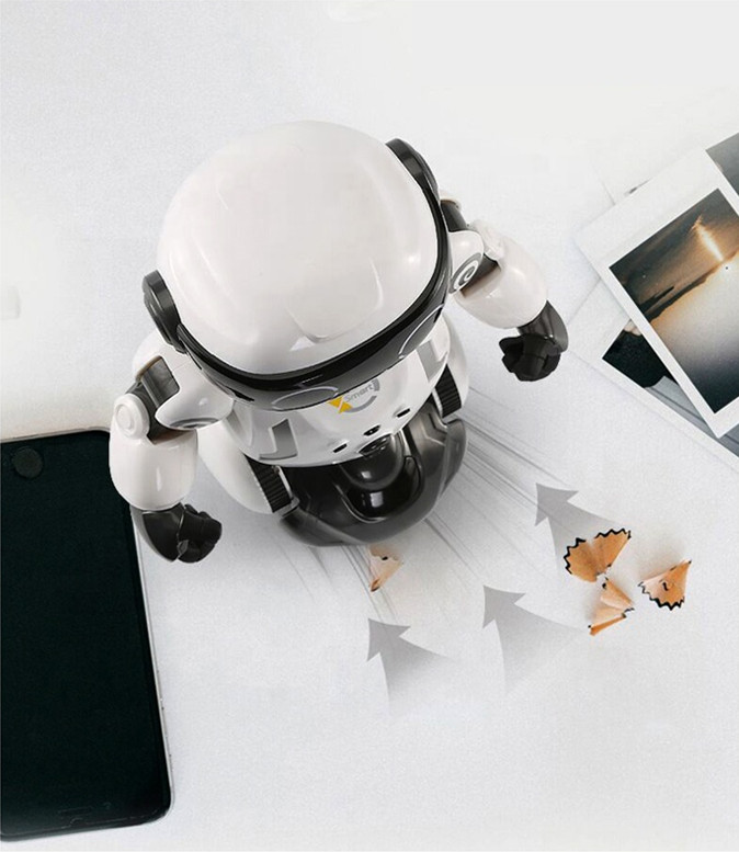 Educational Intelligent Induction RC Vacuum Cleaner Robot With Dancing