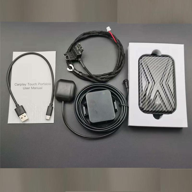 Универсальная беспроводная смарт-приставка Carplay Ai Box Android 9,0, мультимедийное видео Apple AI Box CarPlay 4 + 64 ГБ