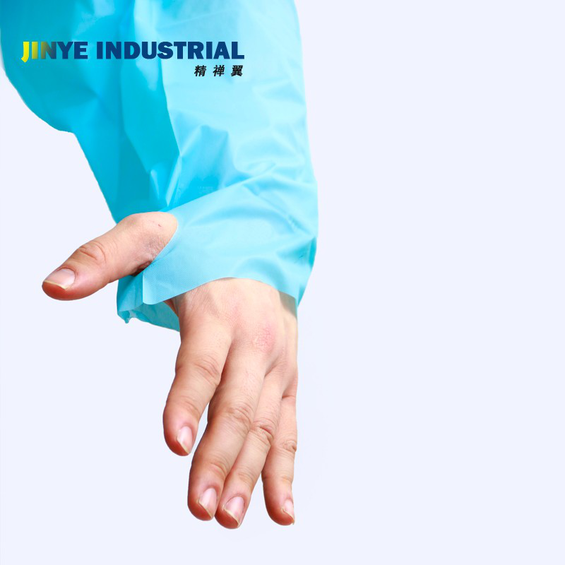 Disposable Waterproof CPE Isolation Gown - KingCare   KingCare.net
