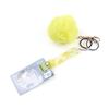 Yellow grabber+pom ball