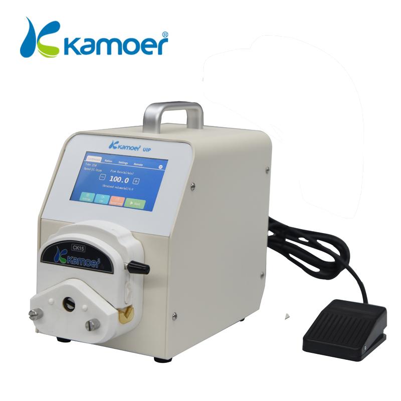 Kamoer Wifi UIP Portable High Precision 220V Lab Peristaltic Pump dosing pump with display