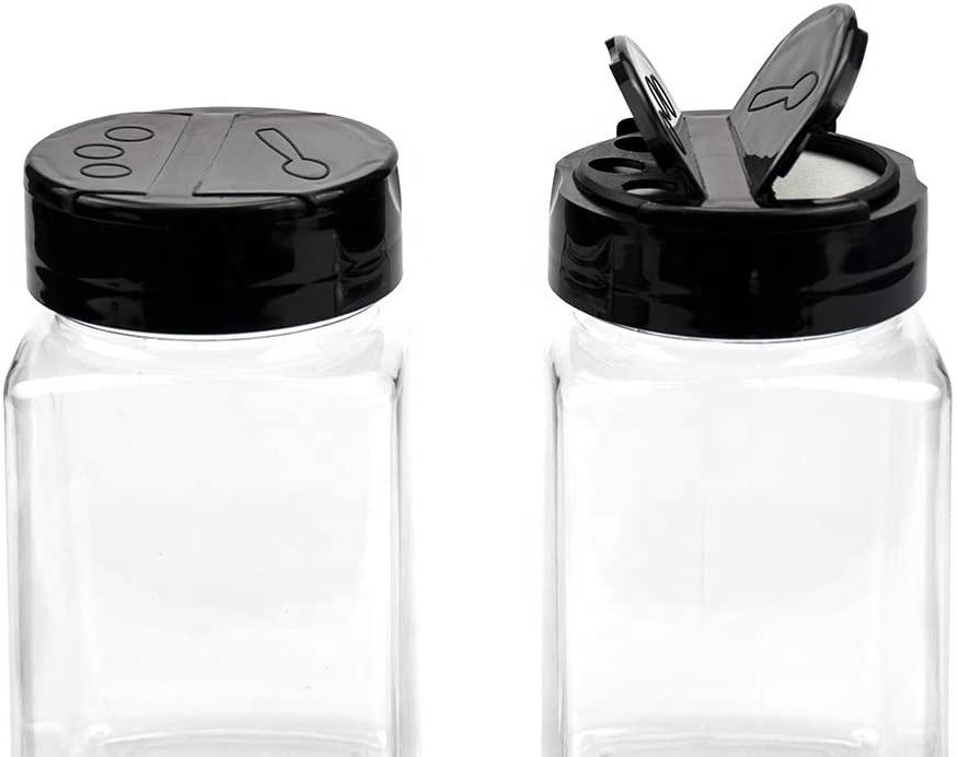 270ml PET plastic spice seasoning bottles