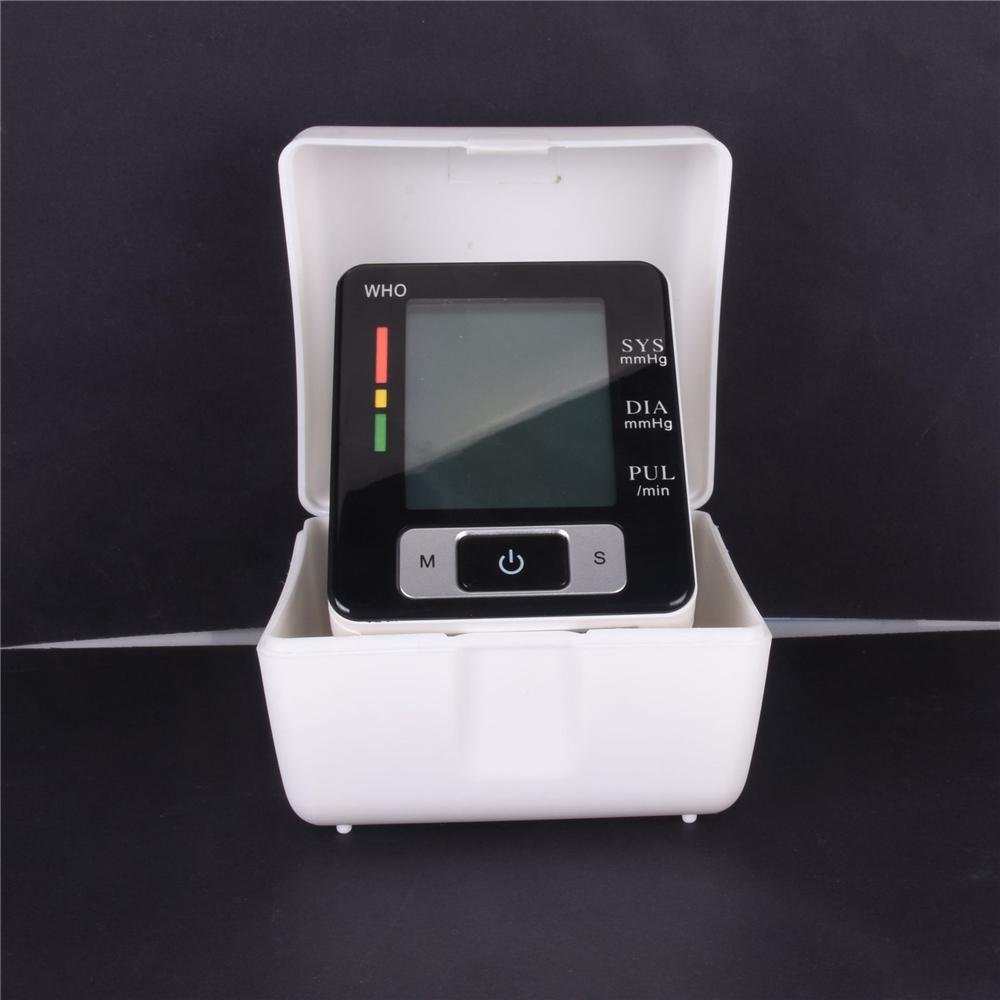 Led Display Digital Wrist Type Full Automatic Electronic Voice Blood Pressure Monitor BP Machine