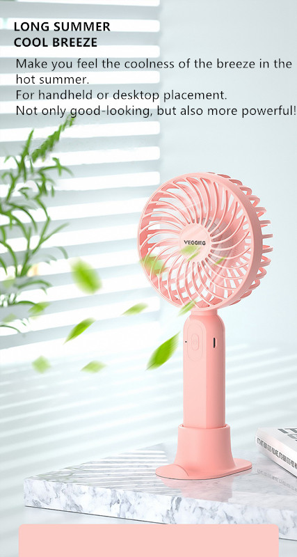 2021 Summer Products Most Popular Battery Charging Cooling USB Portable Rechargeable Mini Fans