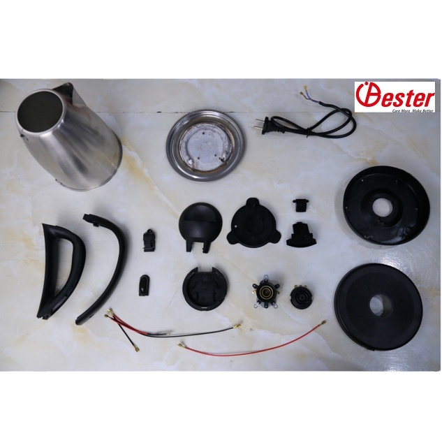 electric kettle spare parts Stainless steel electric kettle SKD CKD shipment
