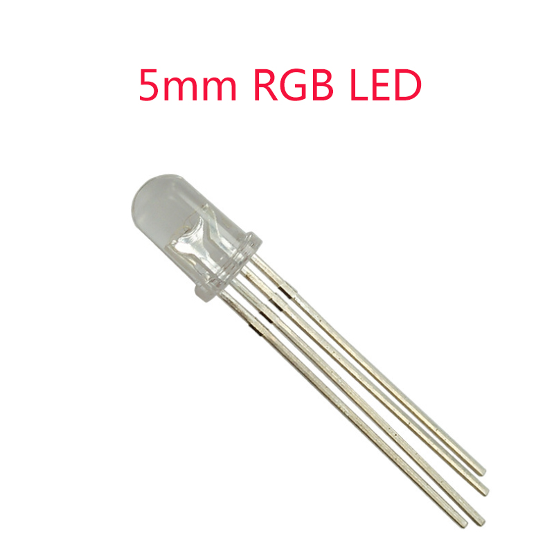Common Cathode/Anode F5 5mm LED Diode 5mm RGB LED Diode