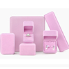Long box: 22*5.5*3cm  Pink
