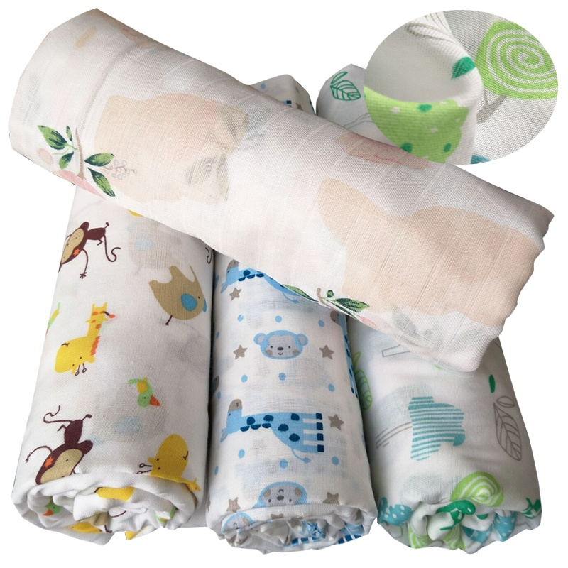 bamboo cotton muslin fabric for baby blanket