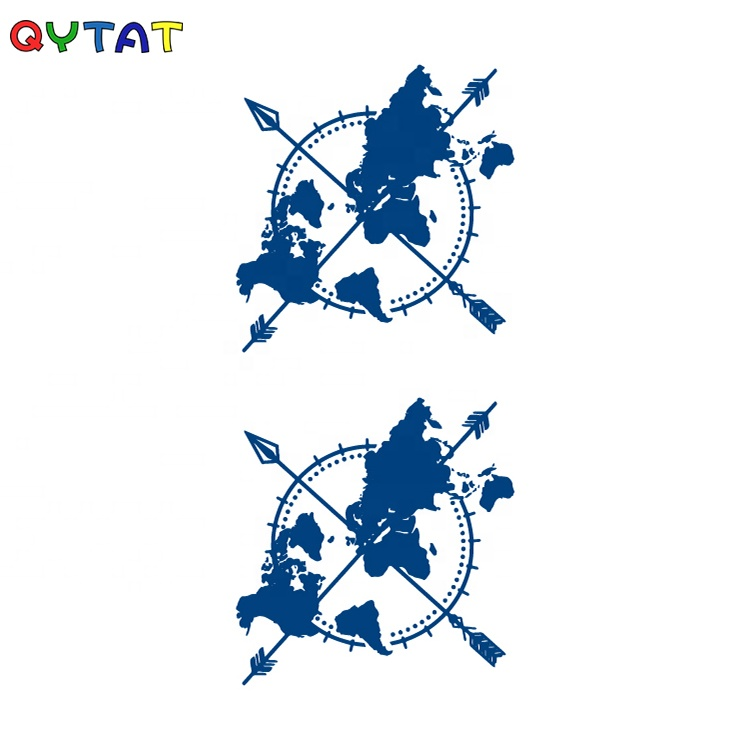 QYTAT Wholesale & Custom 100% Plant-Based Last 15 days Realistic Matte Finish Juice Semi Permanent Temporary Tattoo Sticker