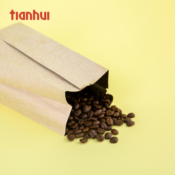 Biodegradable Custom Kraft Smell Proof Heat Seal Paper Tea Bag