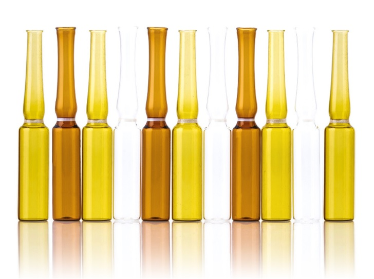 1 мл/2 мл/5 мл/7 мл/10 мл янтарная ампула из боросиликатного стекла для фармацевтических бутылок