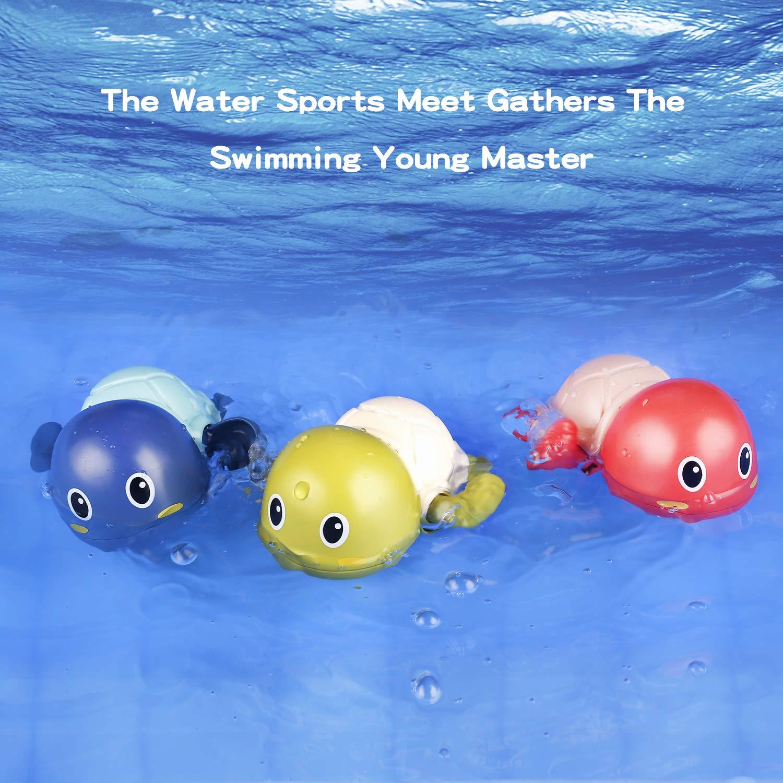 Wholesale Amazon Cute Turtle Bath Toys Birthday Gifts Summer Bathtub Toys Swim Pool Bath Toys
