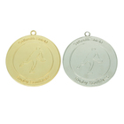 Metal Metal Cheap Medals Cheap Custom Blank Ribbon Hanger Gold Silver Sports Running Metal Medals