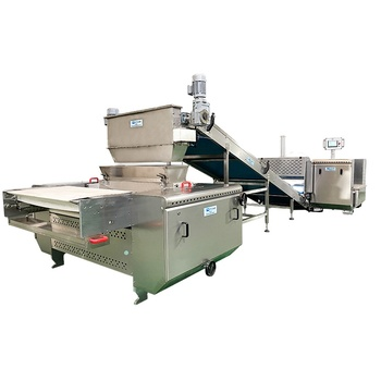 Small Design Automatic Dog Type Biscuits Machine Making Line Production For Pet Shop/Pet Biscuit Factory