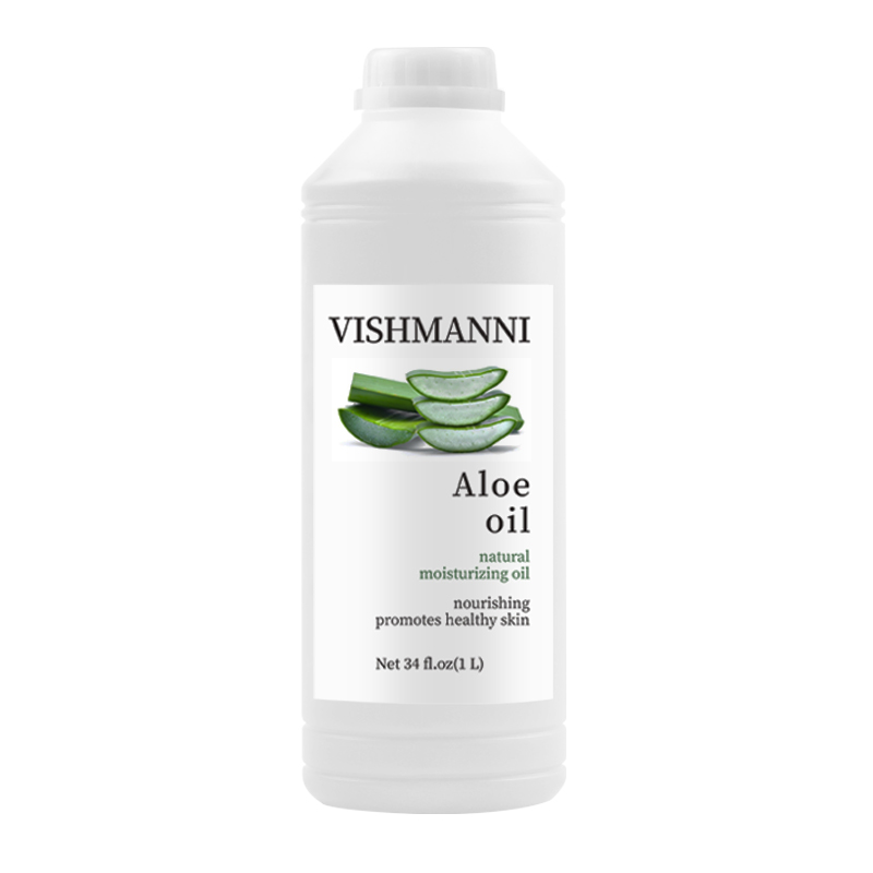 Горячая продажа органическое натуральное чистое масло алоэ вера для восстановления кожи