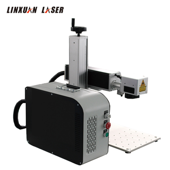 hs code glass plastic rotating second hand colorful ultraviolet green laser marking machine device used