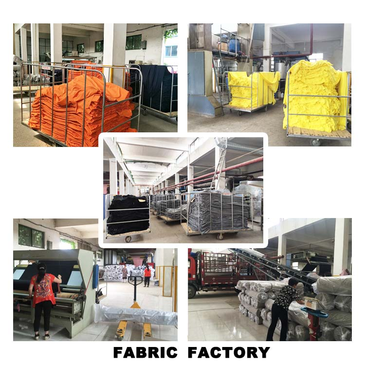 EN20471 Knitted Fluorescent Yellow Flame Retardant High Visibility Fabric