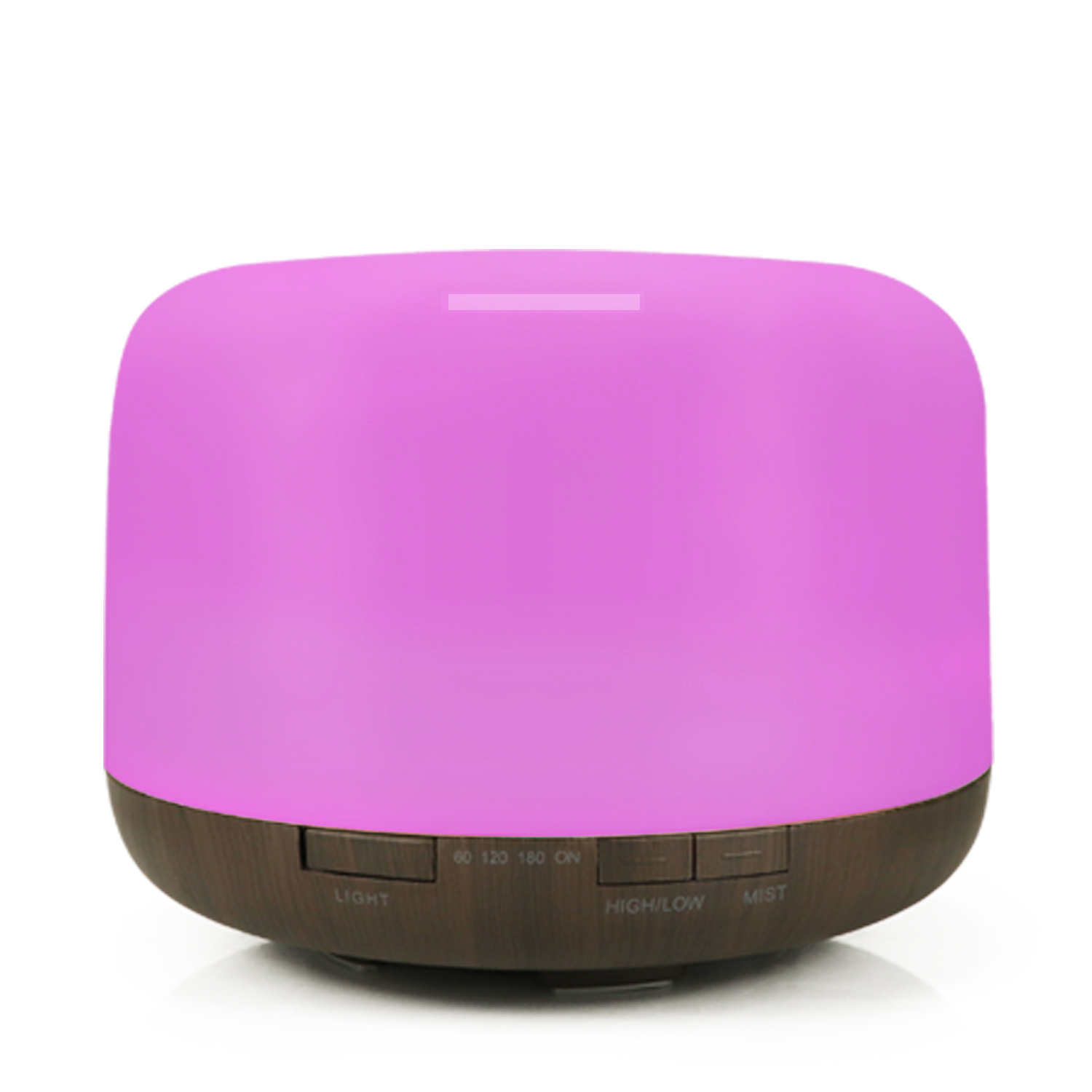 500ml Arom Essential Oil Diffuser Timing Ultrasonic Air Humidifier 7 Color LED Lights Air Diffuser Aromtherapy Mist Maker