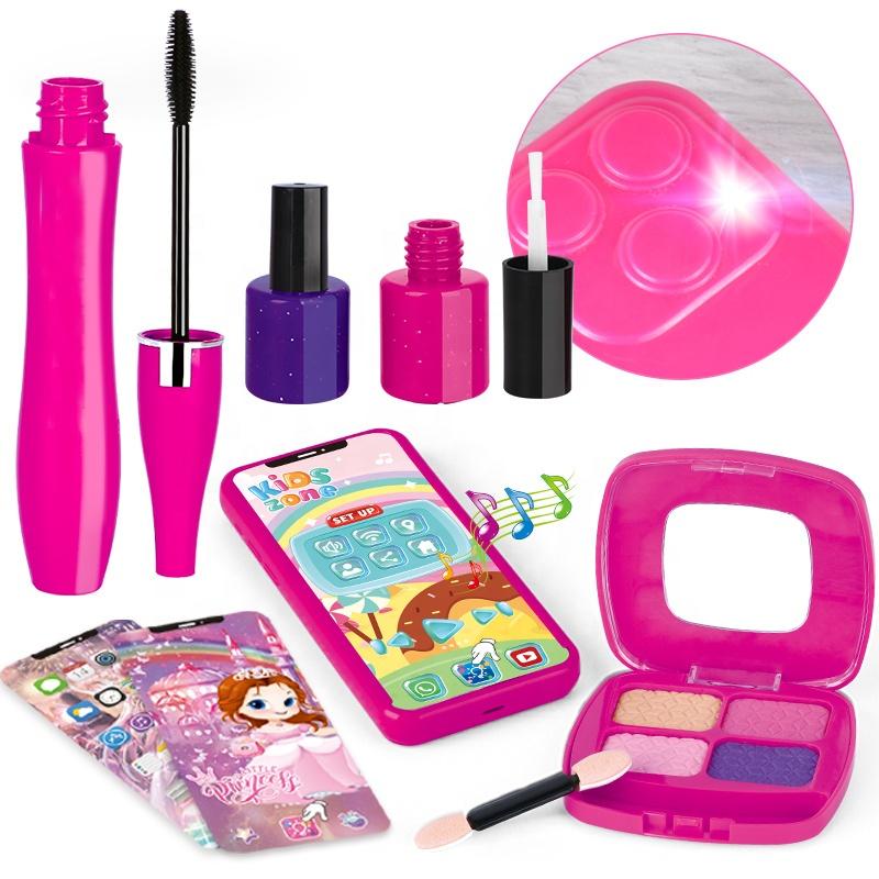 Красота Косметика игрушки, игровой набор для маленьких детей 5 лет зимняя одежда для девочек набор для макияжа для детей
