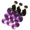 Purple Ombre body wave