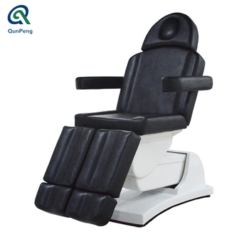 luxury beauty bed electric facial chair bed with seperated legs tatoo chair pedicure