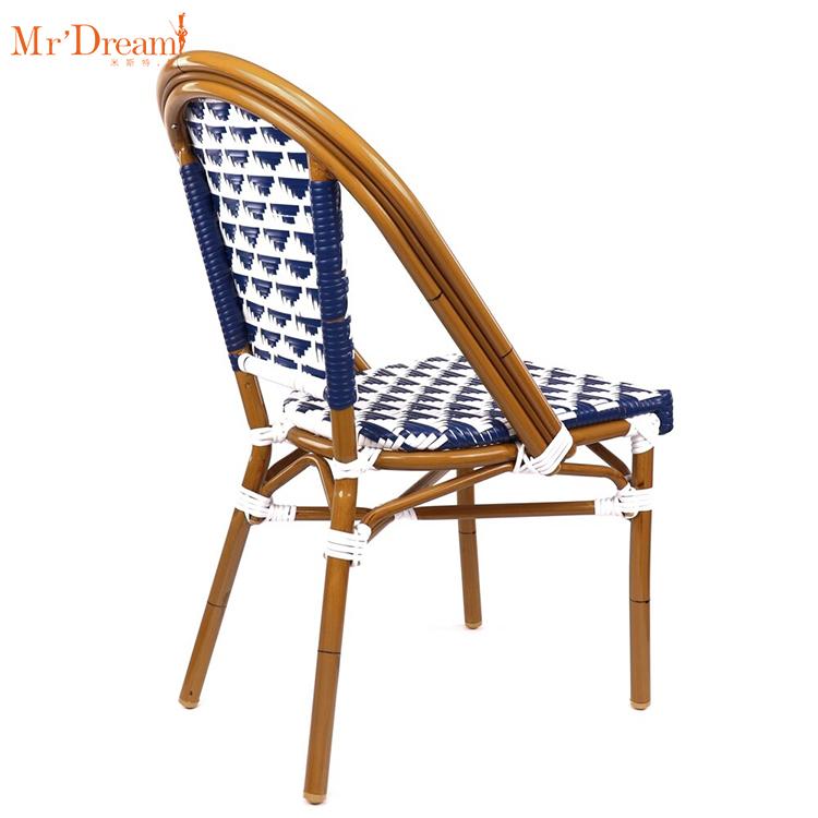 На единый сервис коммерческий бистро ресторан на открытом воздухе синтетический ротанг с плетеными стульями
