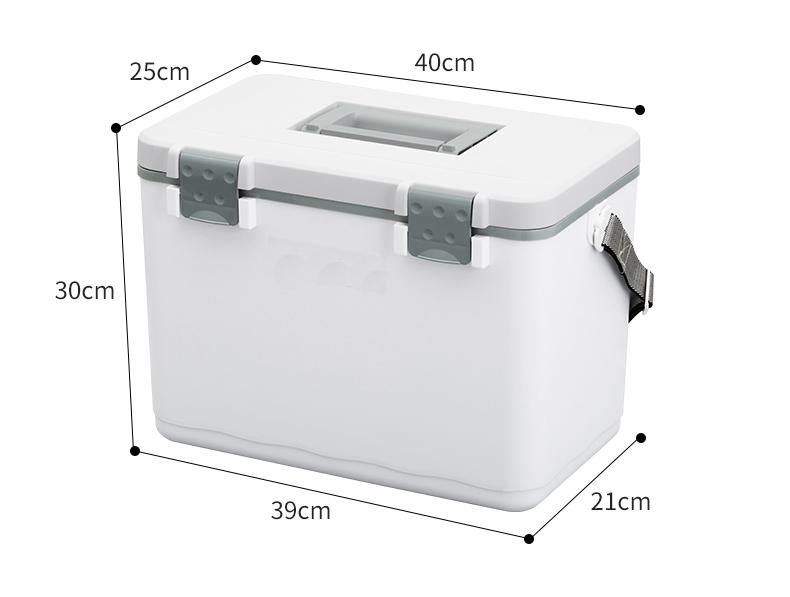 Портативный холодильник для вакцины, коробка для медицинской транспортировки, 12 л