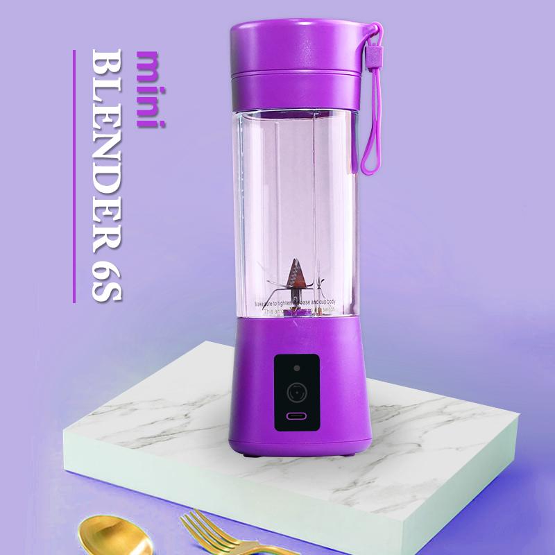 Дропшиппинг коммерческий портативный и перезаряжаемый аккумулятор блендер для сока
