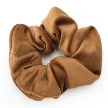 1 шт., мягкая бархатная эластичная резинка для волос, однотонная цветная эластичная резинка для волос для девочек, женские зимние головные у...(Китай)