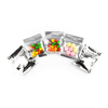silver Candy Pouch Bag