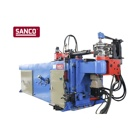 SANCO Fully Auto Electric Tube Pipe Bending Machine for CS, SS, Al, Copper Pipe