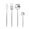 Silver Set(4pcs:knife,fork,spoon,teaspoon)