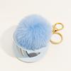 38-Blue fur ball