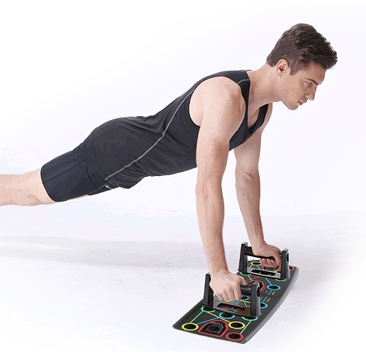Доска пуш-ап, складная переносная доска для тренировок, домашняя система для фитнеса и тренировок