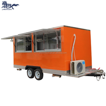 Professionale di alta qualità mobile van ice cream fast food camion vending carrello fast food camion