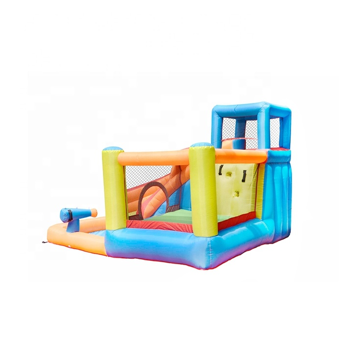 Home Use Cheap Kids Jumping Combo Air Mini Inflatable Bouncer with Slide Manufacturer China