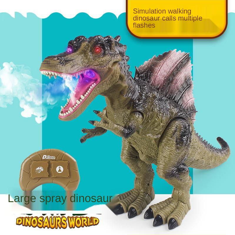 Simulation Acoustooptic Spinosaurus Electric Walkable Spray Spinosaurus Dinosaur Toy