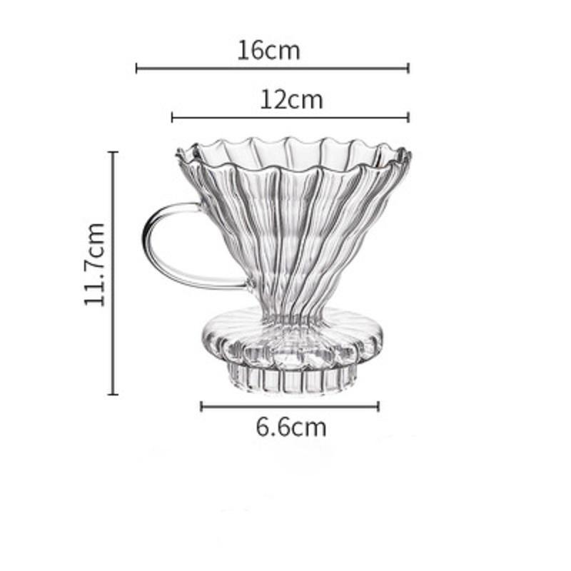 Кофейная капельница, стеклянный фильтр, 600 мл, бариста, инструменты, кухонный чайник, гусиная шея, Кофеварка, чайник с длинным носиком, чайник...(Китай)