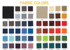 Tissu couleurs